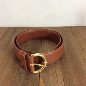 Coach British Tan leather Belt 8500 Size Medium